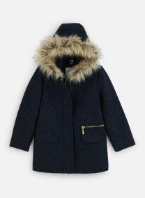 Kleding Accessoires Manteau à Capuche - Lainage bleu nuit