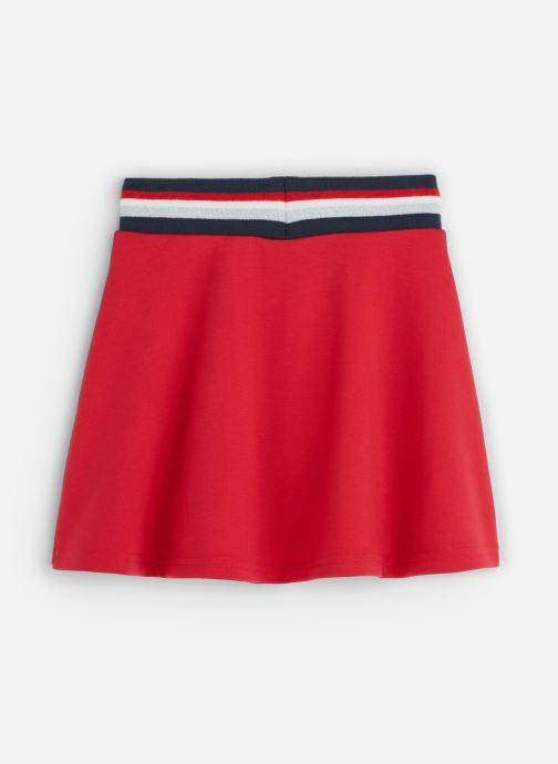 Vêtements 3 Pommes Jupe évasée Sporty Milano Rouge vue bas / vue portée sac