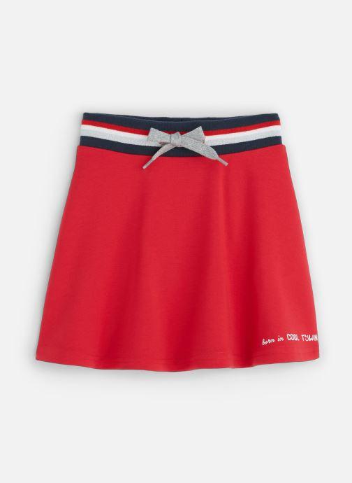 Vêtements 3 Pommes Jupe évasée Sporty Milano Rouge vue détail/paire