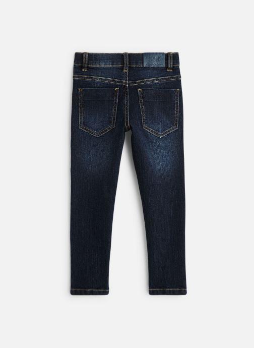 Vêtements 3 Pommes Pantalon Denim Bleu - 5 poches Bleu vue bas / vue portée sac