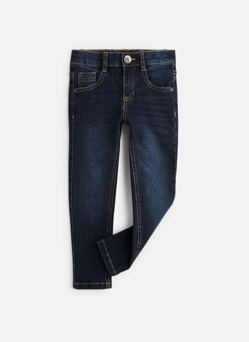 Vêtements 3 Pommes Pantalon Denim Bleu - 5 poches Bleu vue détail/paire