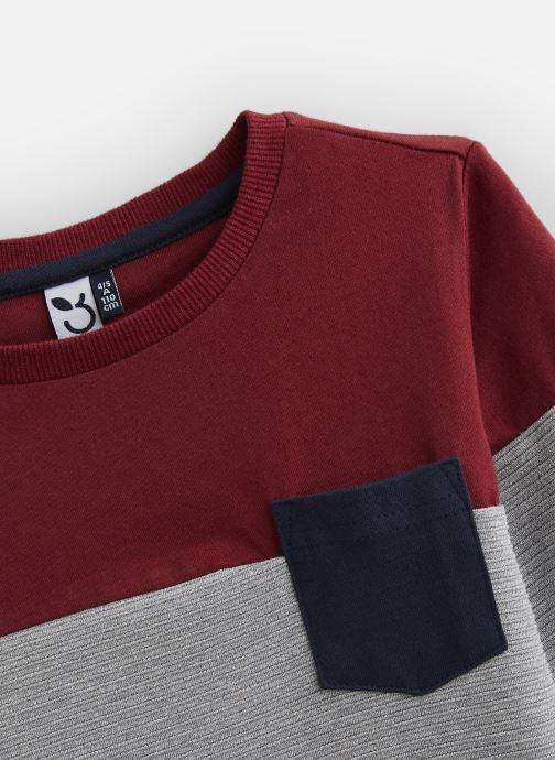 Vêtements 3 Pommes T-Shirt 3P10055 Gris vue portées chaussures