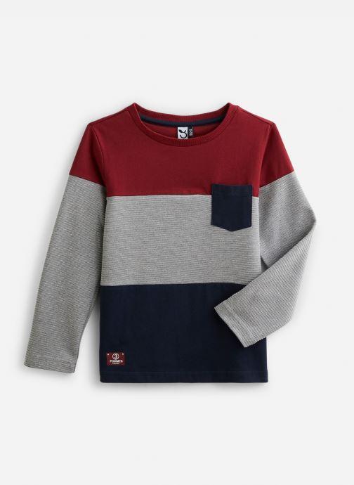 Vêtements 3 Pommes T-Shirt 3P10055 Gris vue détail/paire