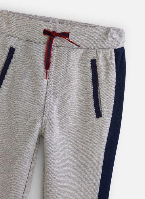 Vêtements 3 Pommes Jogging Molleton Taille Elastiquée Gris vue portées chaussures