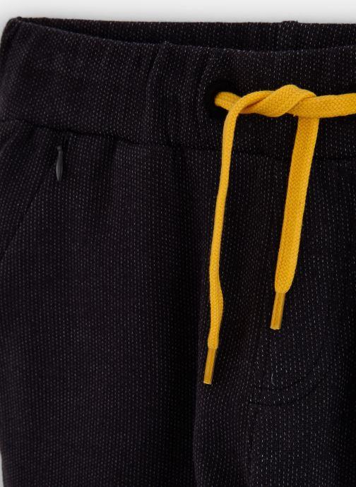 Vêtements 3 Pommes Jogging Molleton Sporty - Taille Elastiquée Noir vue portées chaussures