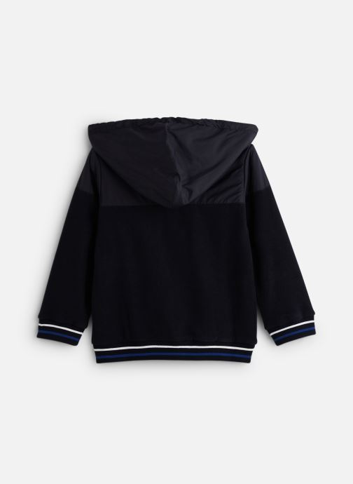 Vêtements 3 Pommes Gilet 3P17015 Bleu vue bas / vue portée sac