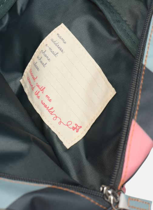 Schooltassen ENGEL. Backpack Small 22*8*28cm Multicolor achterkant