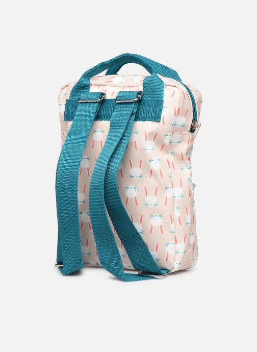 Scolaire ENGEL. Backpack Small 22*8*28cm Beige vue droite
