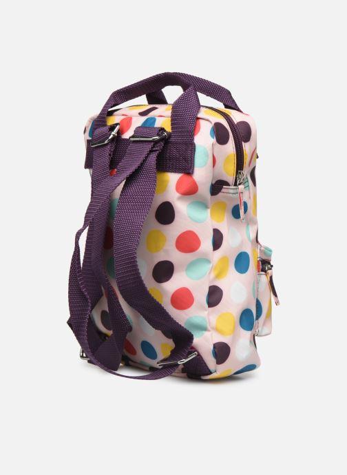 Schooltassen ENGEL. Backpack Small 22*8*28cm Beige rechts