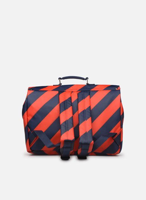 Schooltassen ENGEL. School bag Large 37*14*28cm Blauw voorkant