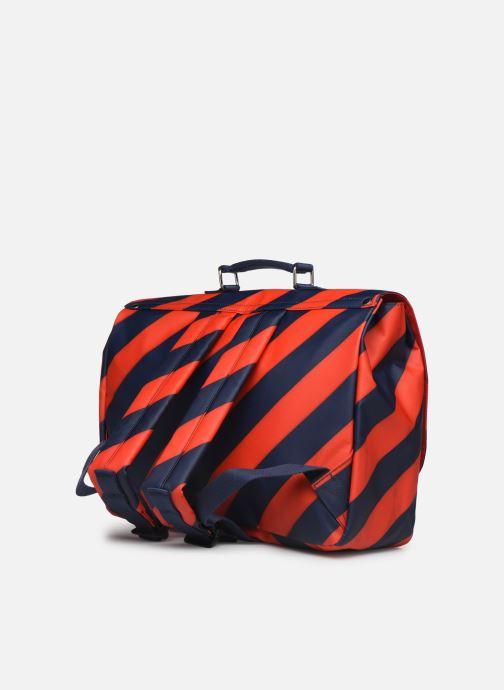 Schooltassen ENGEL. School bag Large 37*14*28cm Blauw rechts