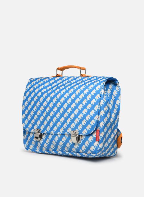 School bags ENGEL. School bag Large 37*14*28cm Blue model view