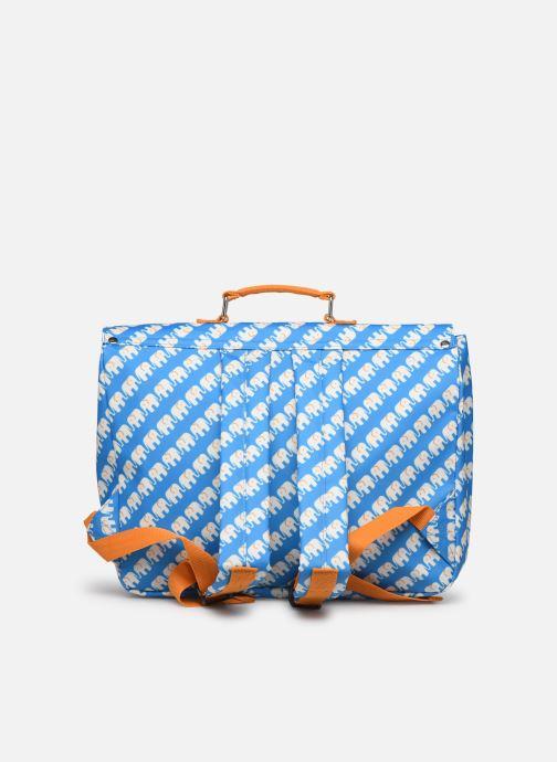 School bags ENGEL. School bag Large 37*14*28cm Blue front view