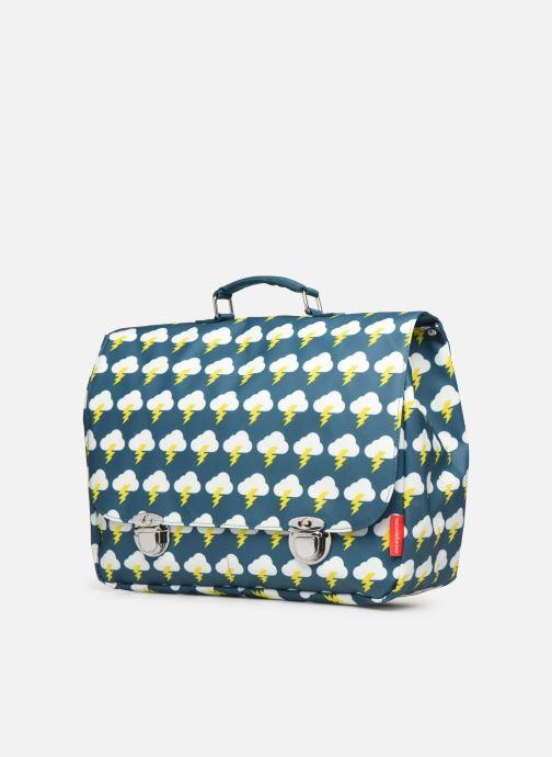 Schulzubehör ENGEL. School bag Large 37*14*28cm grün schuhe getragen