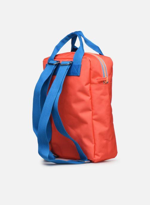 Schooltassen ENGEL. Backpack Large 26*11*35cm Oranje rechts