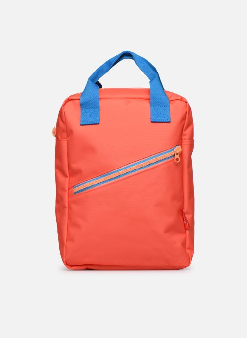 Schooltassen ENGEL. Backpack Large 26*11*35cm Oranje detail