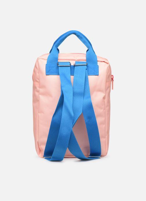 Schulzubehör ENGEL. Backpack Large 26*11*35cm rosa ansicht von vorne