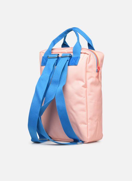 Schulzubehör ENGEL. Backpack Large 26*11*35cm rosa ansicht von rechts