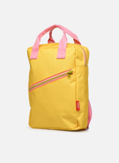 Schooltassen ENGEL. Backpack Large 26*11*35cm Geel model