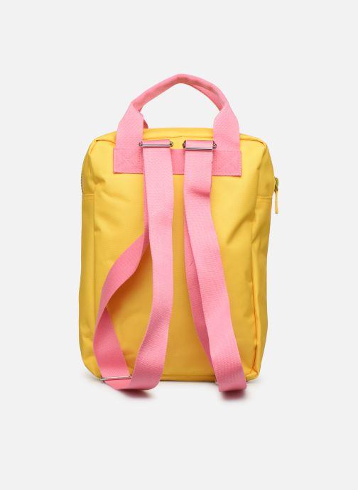 Schooltassen ENGEL. Backpack Large 26*11*35cm Geel voorkant