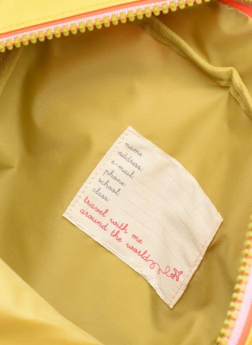 Schulzubehör ENGEL. Backpack Large 26*11*35cm gelb ansicht von hinten