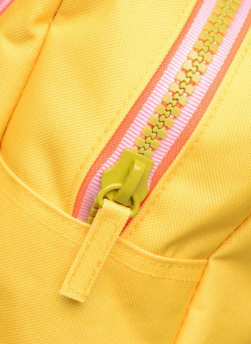 Schooltassen ENGEL. Backpack Large 26*11*35cm Geel links