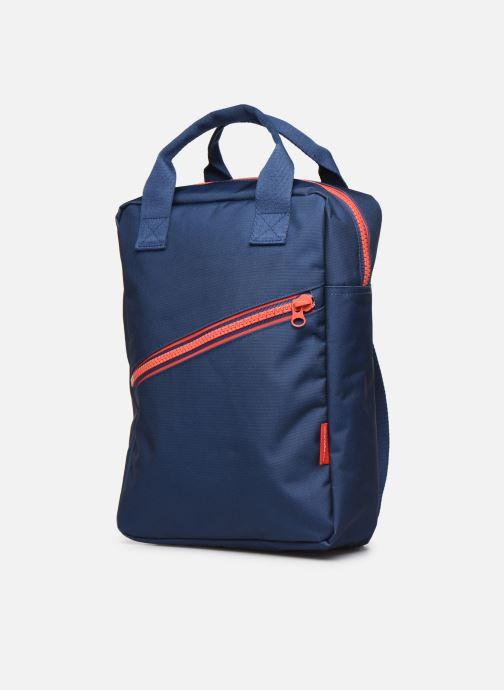 Schooltassen ENGEL. Backpack Large 26*11*35cm Blauw model