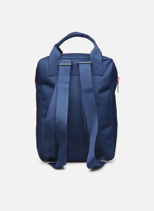 Schooltassen ENGEL. Backpack Large 26*11*35cm Blauw voorkant