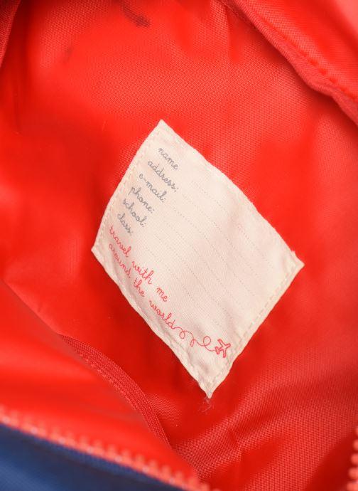 Schooltassen ENGEL. Backpack Large 26*11*35cm Blauw achterkant