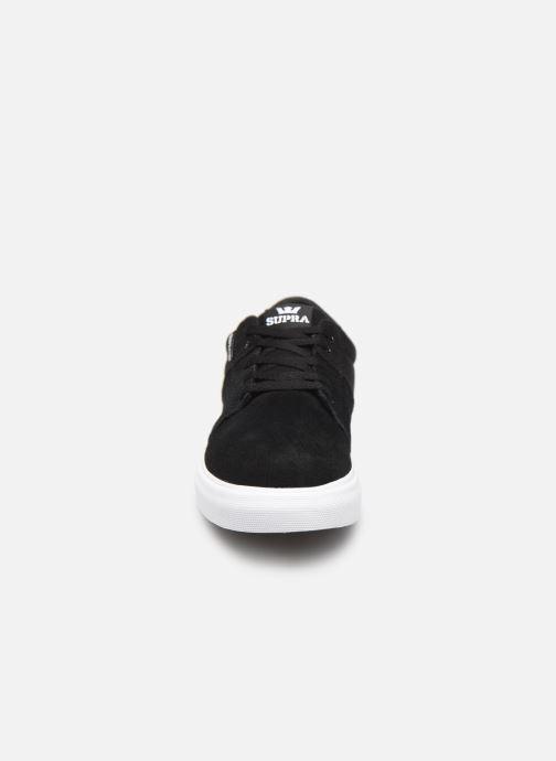 Baskets Supra Stacks Vulc Ii W Noir vue portées chaussures