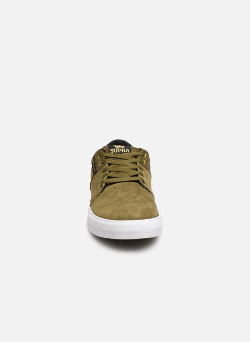 Baskets Supra Stacks Vulc Ii W Vert vue portées chaussures