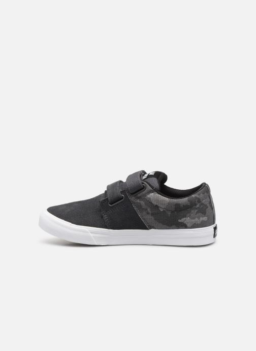 Baskets Supra Stacks Vulc Ii W Gris vue face