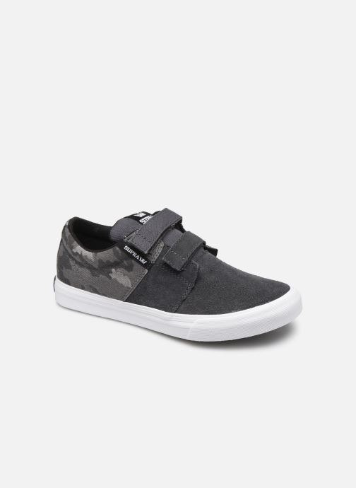 Baskets Supra Stacks Vulc Ii W Gris vue détail/paire
