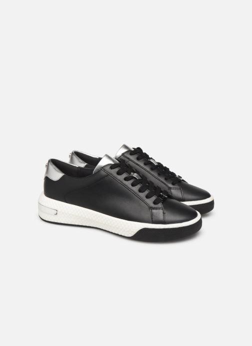 Sneakers Michael Michael Kors Codie Lace Up Zwart 3/4'