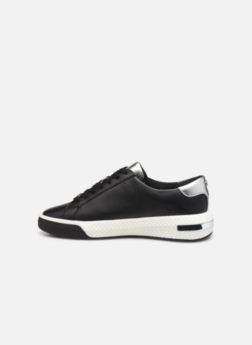 Sneakers Michael Michael Kors Codie Lace Up Zwart voorkant