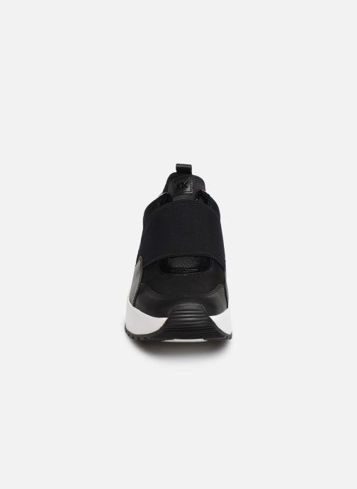 Baskets Michael Michael Kors Cosmo Slip On Noir vue portées chaussures