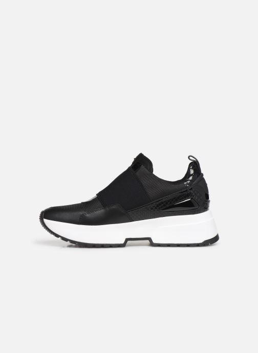 Sneakers Michael Michael Kors Cosmo Slip On Zwart voorkant