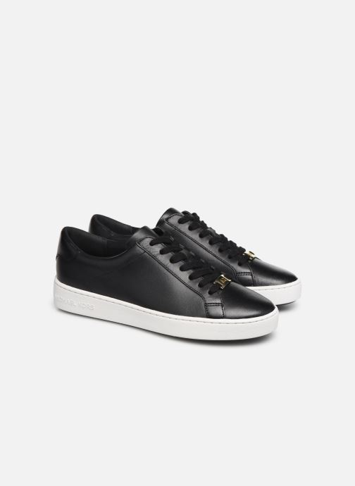 Sneakers Michael Michael Kors Irving Lace Up 2 Zwart 3/4'