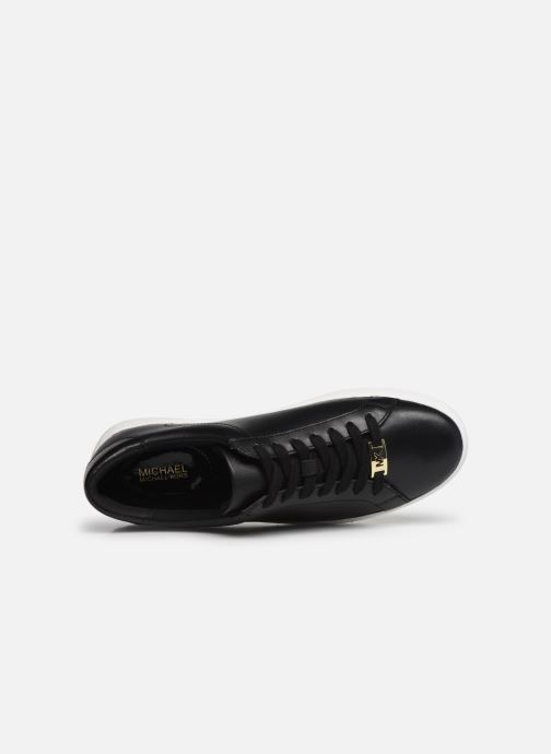 Sneakers Michael Michael Kors Irving Lace Up 2 Nero immagine sinistra