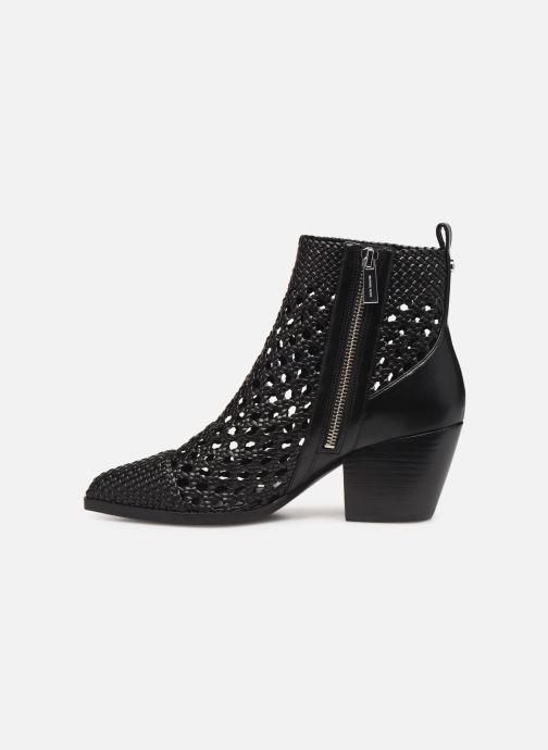 Stiefeletten & Boots Michael Michael Kors Augustine Mid Bootie schwarz ansicht von vorne