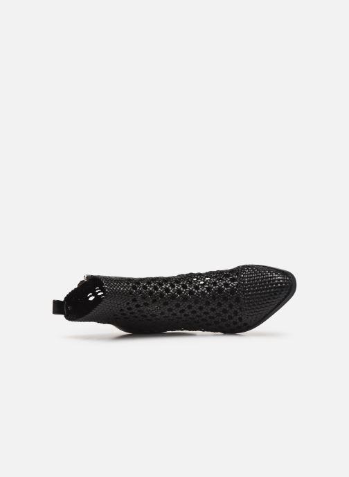 Stiefeletten & Boots Michael Michael Kors Augustine Mid Bootie schwarz ansicht von links
