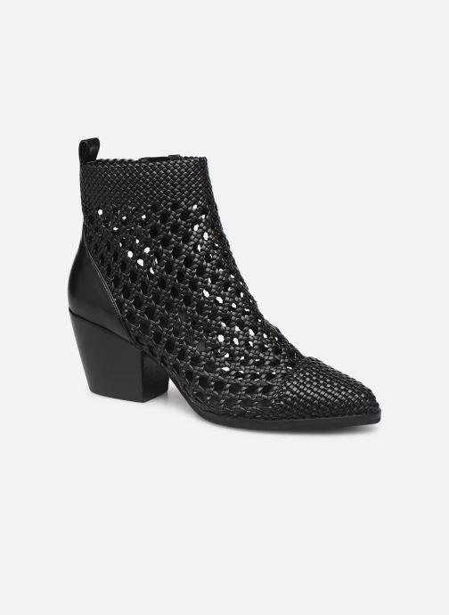 Boots en enkellaarsjes Michael Michael Kors Augustine Mid Bootie Zwart detail