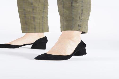 Zapatos de tacón Michael Michael Kors Dixon Pump Negro vista de abajo