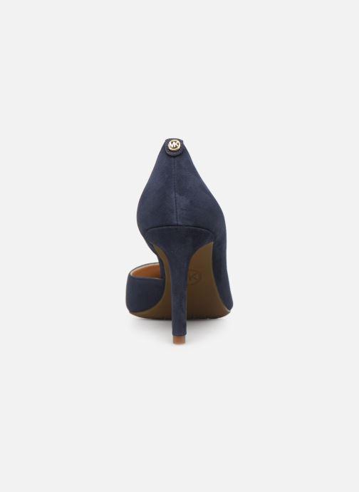 Zapatos de tacón Michael Michael Kors Dorothy Flex d'Orsay Azul vista lateral derecha