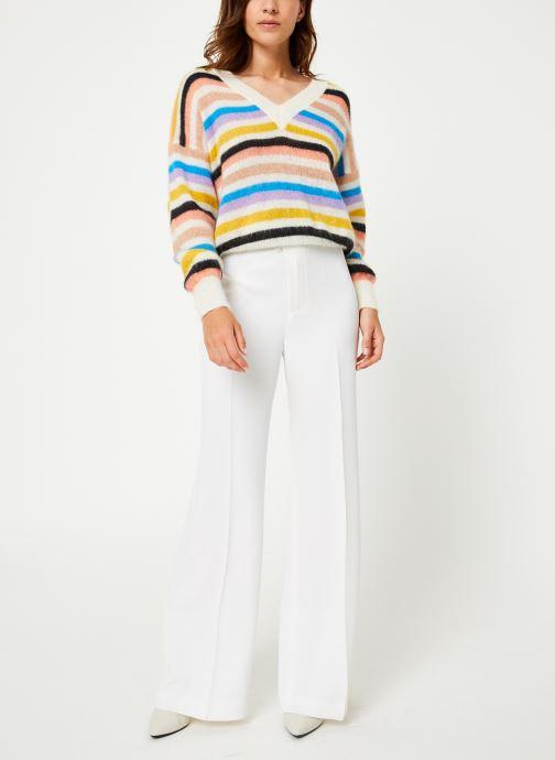 Essentiel Antwerp Pull - Toy (Blanc) - Vêtements (378612)
