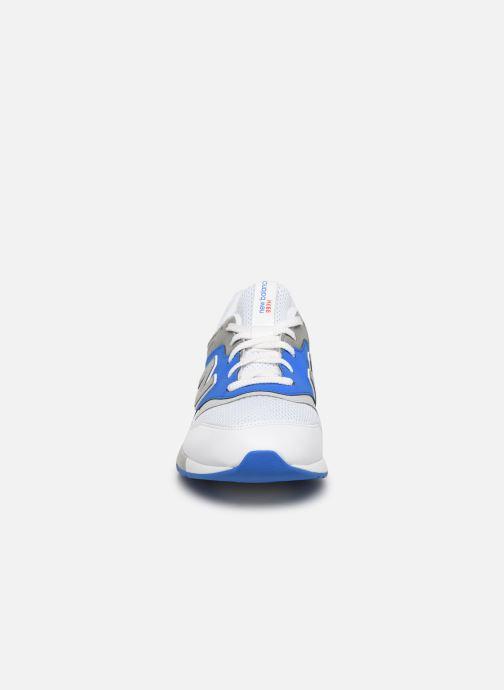 Baskets New Balance GR997 Multicolore vue portées chaussures
