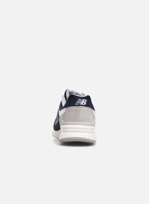 Baskets New Balance GR997 Bleu vue droite