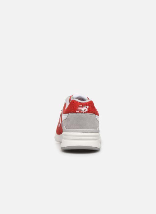 Baskets New Balance GR997 Rouge vue droite