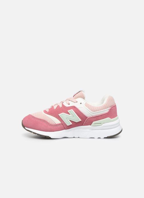 Sneakers New Balance GR997 Roze voorkant