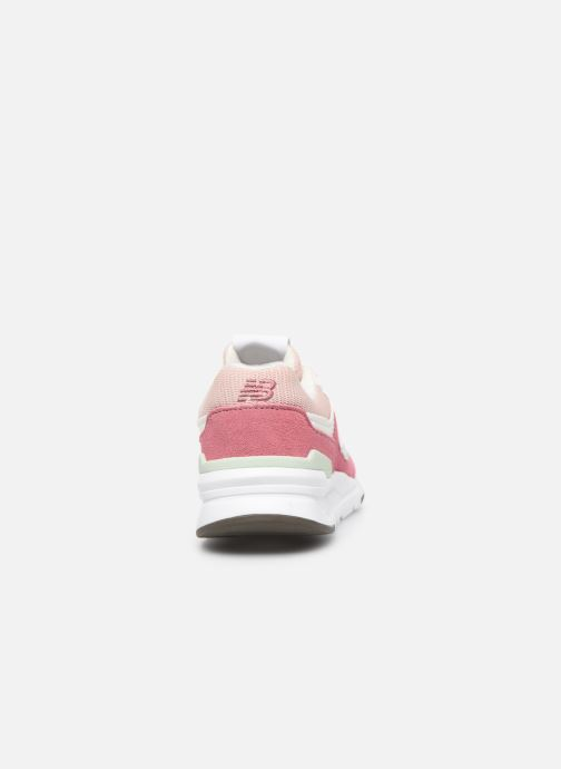 Trainers New Balance GR997 Pink view from the right